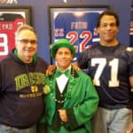 Eric Dorsey at Spring Lake Notre Dame Day