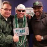 Erik Coleman at Jets Fan Appreciation Day in Spring Lake, N.J.