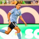 Sam Kerr Continues Blazing Pace in Australia