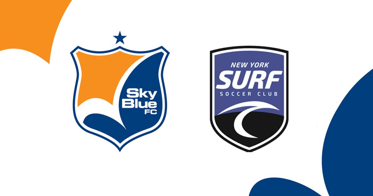 Sky Blue FC   NY Surf