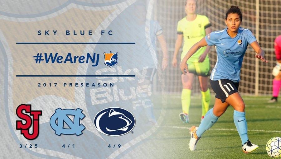 Sky BLue FC 2017 Preseason Schedule