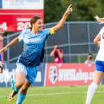 Sam Kerr Ties NWSL Single-Season Scoring Record as Sky Blue FC Blanks Breakers