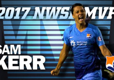 Sam Kerr Voted 2017 NWSL Most Valuable Player