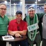Peter Grandich and Sportika Sports Host Joe Klecko