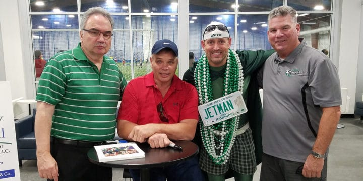 Peter Grandich and Sportika Sports Host Joe Klecko
