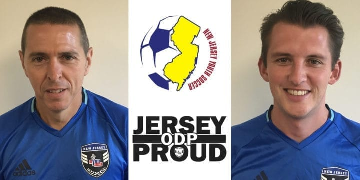 Lou Mignone and Brendan Murphy Named New Jersey ODP Coaching Directors