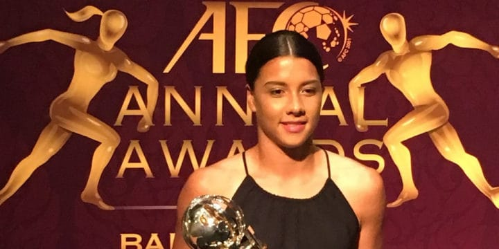 Sam Kerr Named AFC Women's Player of the Year