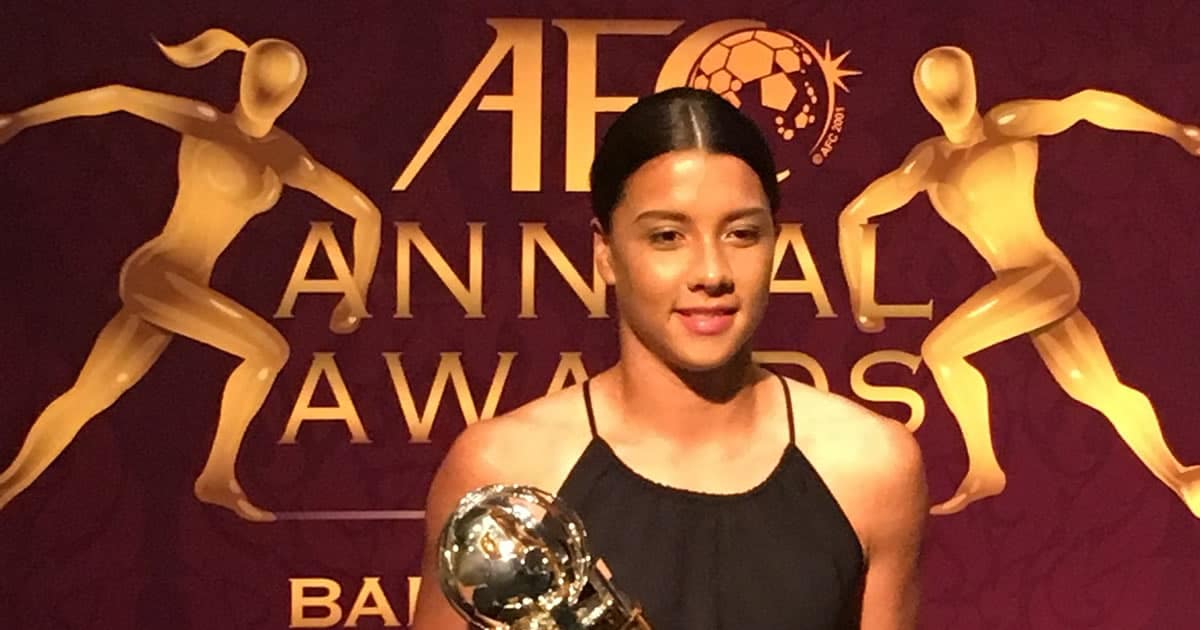 Sam Kerr AFC Women's Player of the Year