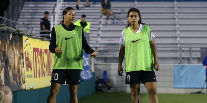 Sam Kerr, Raquel Rodriguez Called Into National Team Duty