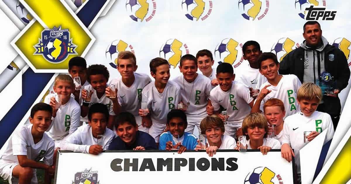 NJ Youth Soccer Topps