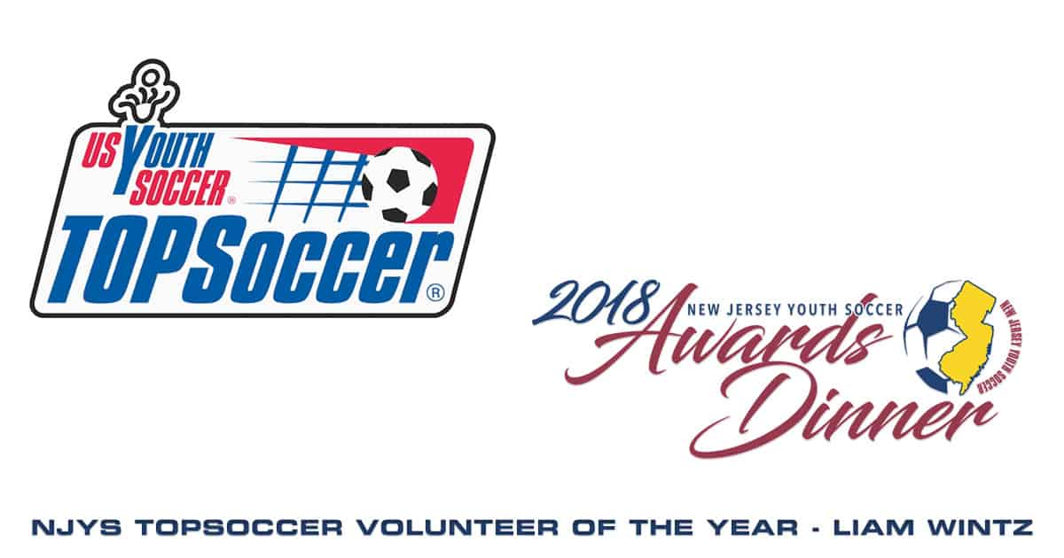 2018 NJYS TOPSoccer Volunteer of the Year